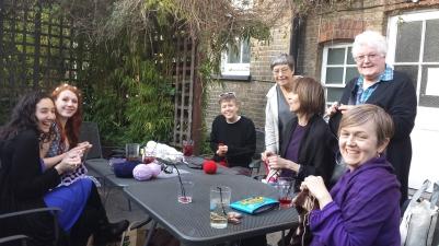 Jemma, Red, Louise, Penny, Tessa, Linda and Jenni